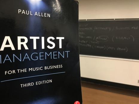 My first class: Artist Management
