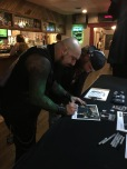Signing promo pictures at Diamondz in Jerome, ID