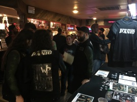 The band had a very warm welcome at Diamondz in Jerome, ID