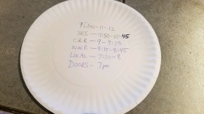 Printing set times on paper is not the only way!