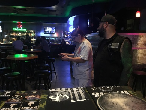 Working with the house tech at Liquid Joe's in Salt Lake City, UT