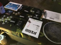 Worldwide Panic merch table