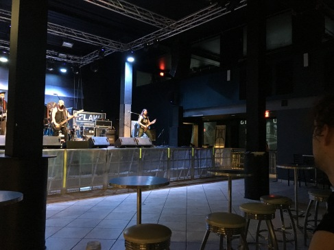 Soundcheck at The Forge in Joliet, IL