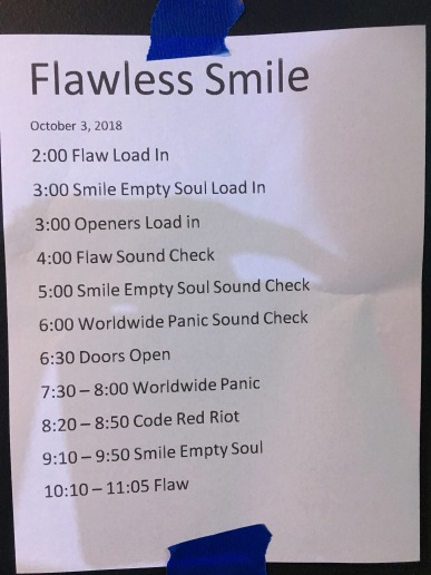 Venue schedule at Nikki's in Sturgis, MI