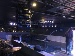 Soundcheck at Nikki's in Sturgis, MI