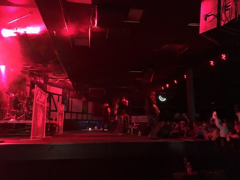 Flaw performing at Piere's in Fort Wayne, IN