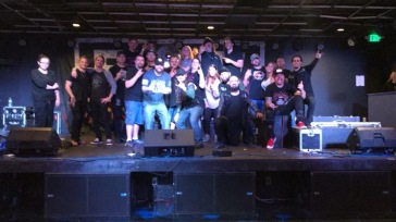 Group picture at Nikki's in Sturgis, MI