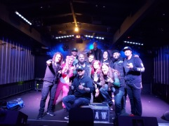 Group picture at Empire Concert Club in Akron, OH