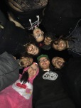 Group hug after the last show with Flaw at Empire Concert Club in Akron, OH