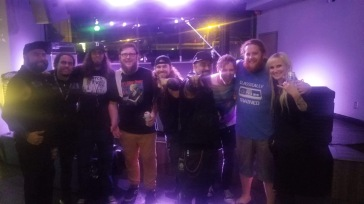 Group picture at Nightshop in Bloomington, IL