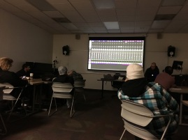 The Record Production Process: Professional Practices class at UCLA Extension. Photo credit: Erika Pursiainen