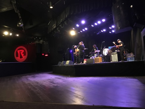 Soundcheck with Pablo Dylan at The Roxy Theatre. Photo credit: Erika Pursiainen