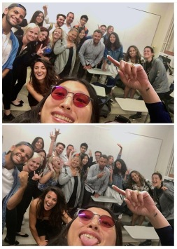 Last class of the course Legal and Practical Aspects of the Music Business at UCLA Extension. Photo credit: Erika Pursiainen
